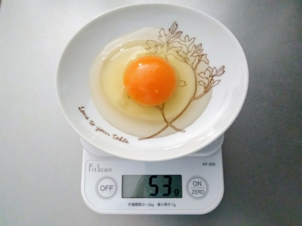 1 個 何 グラム 卵