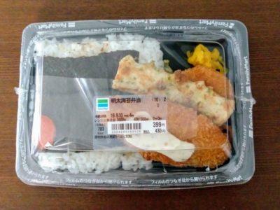 明太海苔弁当
