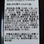 よもぎ大福 小豆粒あん のカロリーと栄養【あわしま堂】