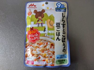 しらすとごぼうの豆ごはん【森永乳業】