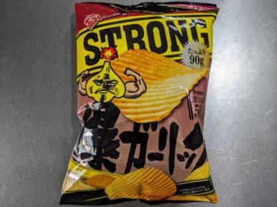 ポテトチップス STRONG 爆ガーリック【湖池屋】
