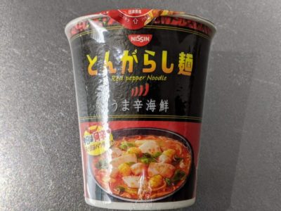 とんがらし麺 うま辛海鮮【日清食品】