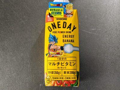 ONEDAY ENERGY BANANA【カゴメ】