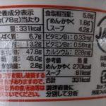 サッポロ一番 ごま味しょうゆラーメン のカロリーと栄養【サンヨー食品】