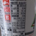 カップヌードル 旨辛豚骨 のカロリーと栄養【日清食品】