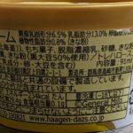 ハーゲンダッツ 華もち 吟撰きなこ黒みつ のカロリーと栄養と原材料2