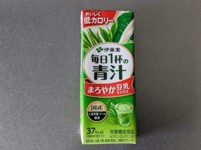 毎日1杯の青汁 まろやか豆乳ミックス【伊藤園】