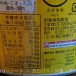 スーパーカップMAX 熟成味噌 のカロリーと栄養【エースコック】