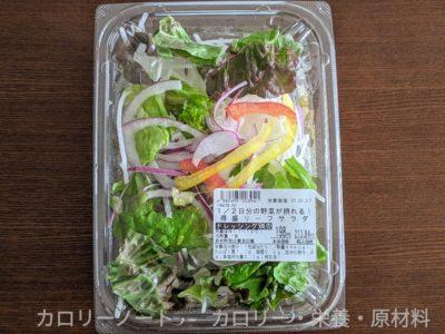 1/2日分の野菜が撮れる!特盛リーフサラダ
