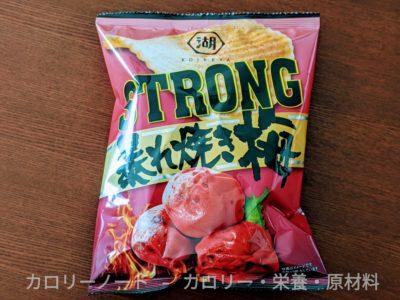 ポテトチップス STRONG 暴れ焼き梅【湖池屋】