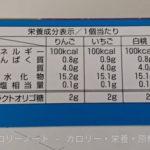 Wの乳酸菌&オリゴ糖 パナップ のカロリーと栄養【グリコ】
